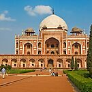 Humayun's Tomb UNESCO World Heritage Site by Konstantinos Arvanitopoulos