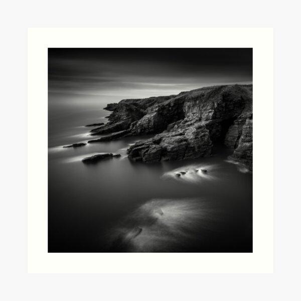 Arbroath Cliffs Art Print