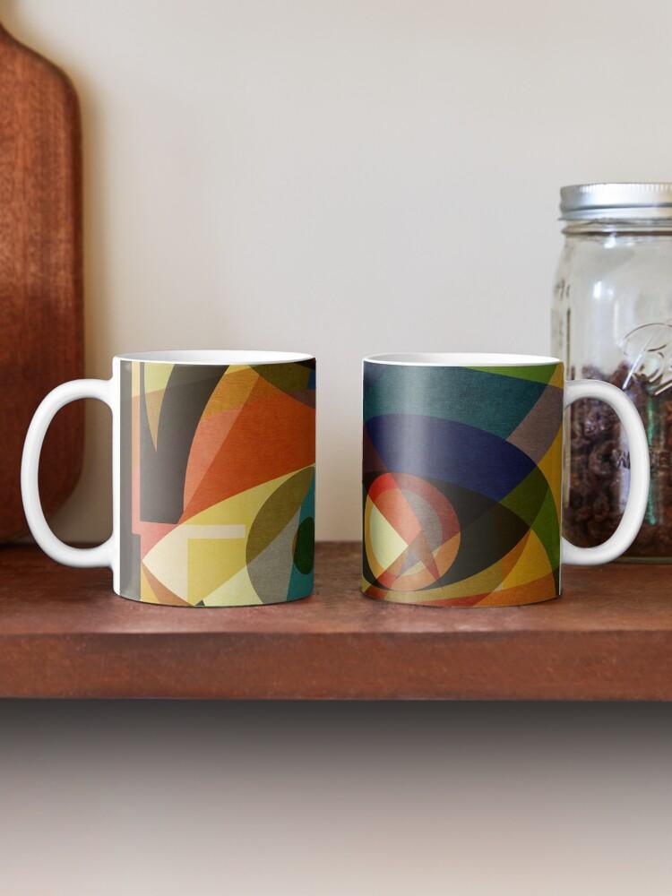 Alternate view of Space Shapes FOUR Mug