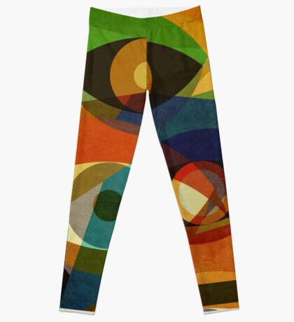 Space Shapes FOUR Leggings