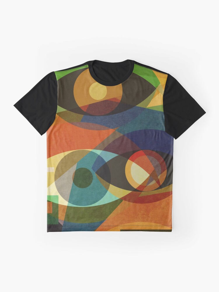Alternate view of Space Shapes FOUR Graphic T-Shirt