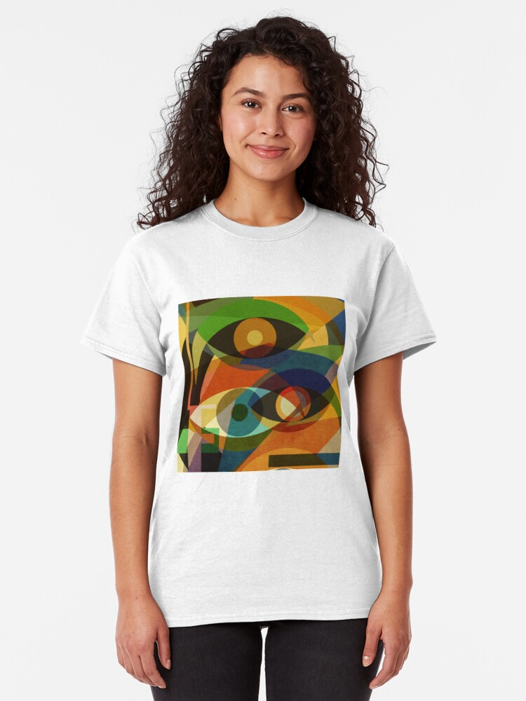 Alternate view of Space Shapes FOUR Classic T-Shirt
