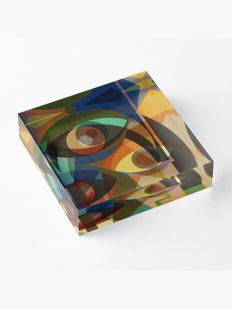 Alternate view of Space Shapes THREE Acrylic Block