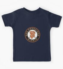 san francisco giants logo Kids Tee