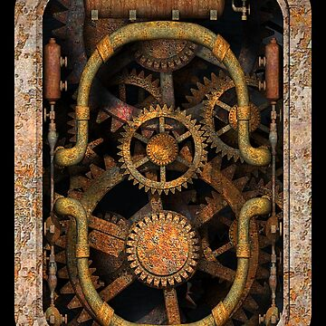 Infernal Steampunk Vintage Machine #1 by SC001