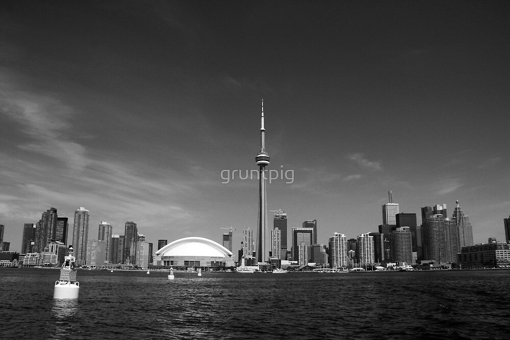 toronto view by gruntpig