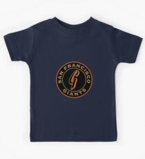 san francisco giants logo 1 Kids Tee