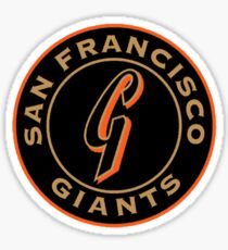 san francisco giants logo 1 Sticker