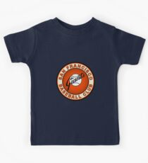 san francisco giants logo 2 Kids Tee