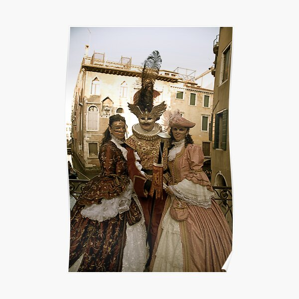 Carnevale di Venezia III Poster