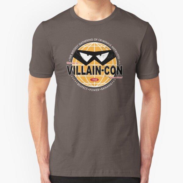 Villain Con Slim Fit T-Shirt