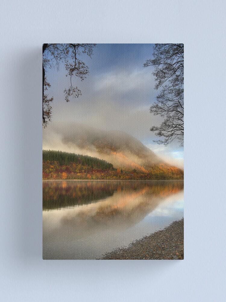 Alternate view of Lubnaig Mist (3) Canvas Print