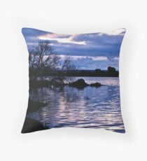 Night time closes in Throw Pillow