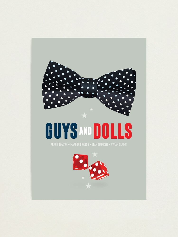 Alternate view of Guys and Dolls - Alternative Movie Poster Photographic Print