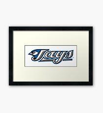 toronto jays logo Framed Print