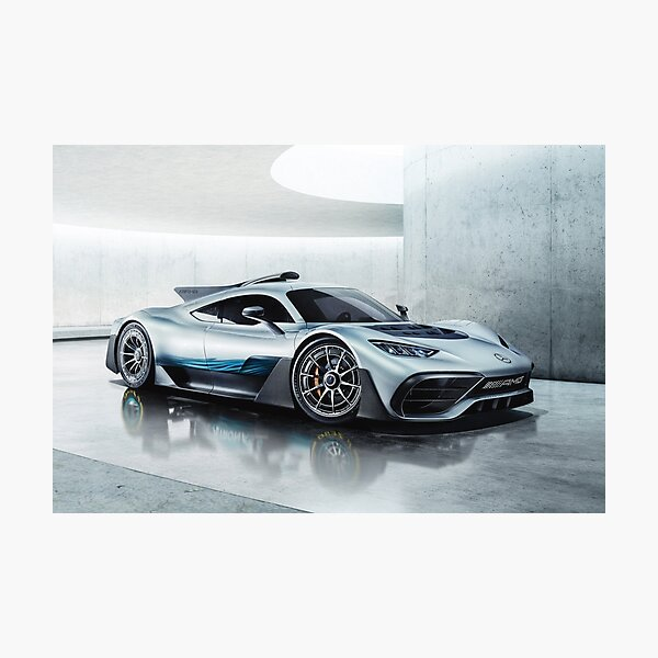 Mercedes Benz AMG Project One Photographic Print
