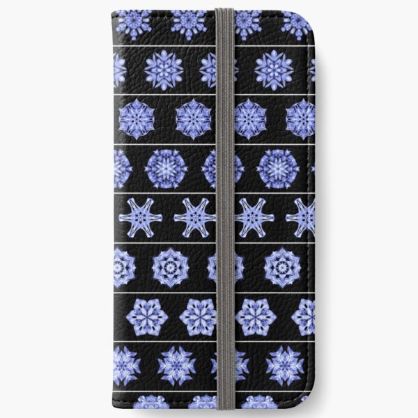 Frost in the Void 1 iPhone Wallet