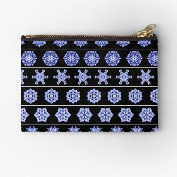 Frost in the Void 1 Zipper Pouch