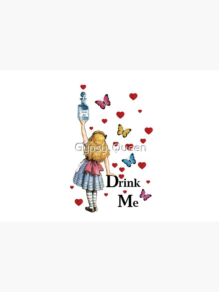 Alice In Wonderland - Drink Me by nomadartstudio