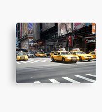 7th Avenue, New York City Canvas Print