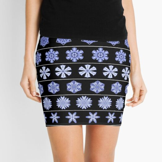 Frost in the Void 2 Mini Skirt