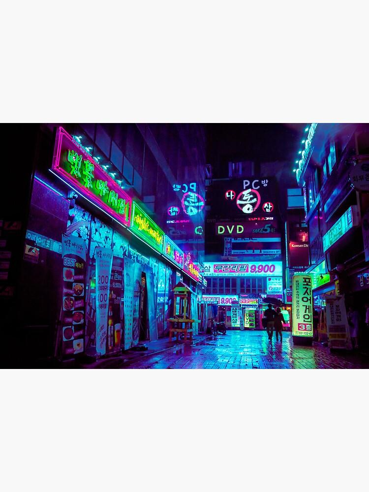 Streets of Jongro by noealz