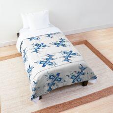 Blue Glaucus Comforter