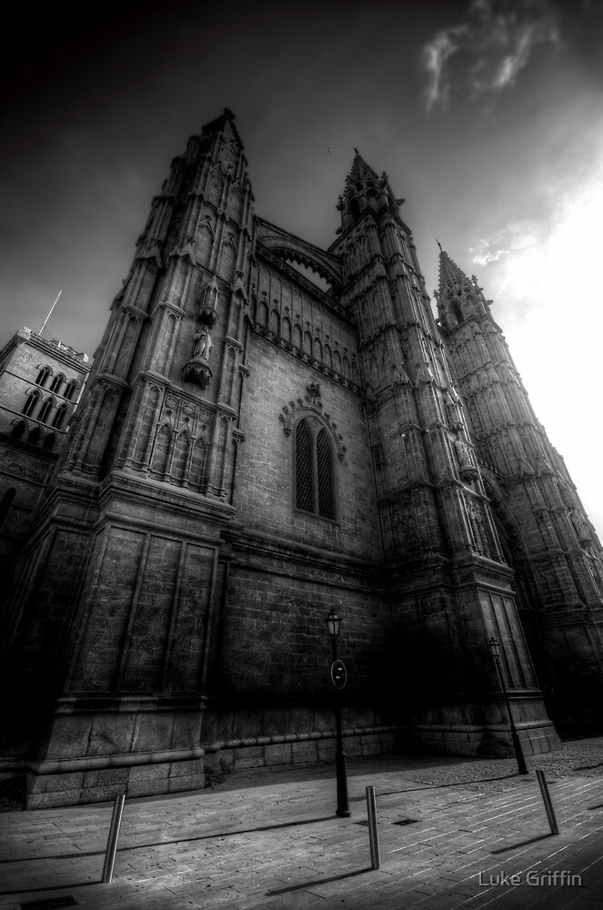 Cathedral of Santa Maria of Palma II by Luke Griffin