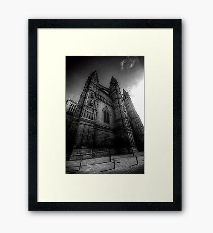 Cathedral of Santa Maria of Palma II Framed Print