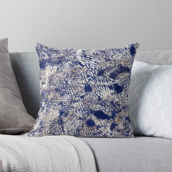 Visions of Vincent Throw Pillow