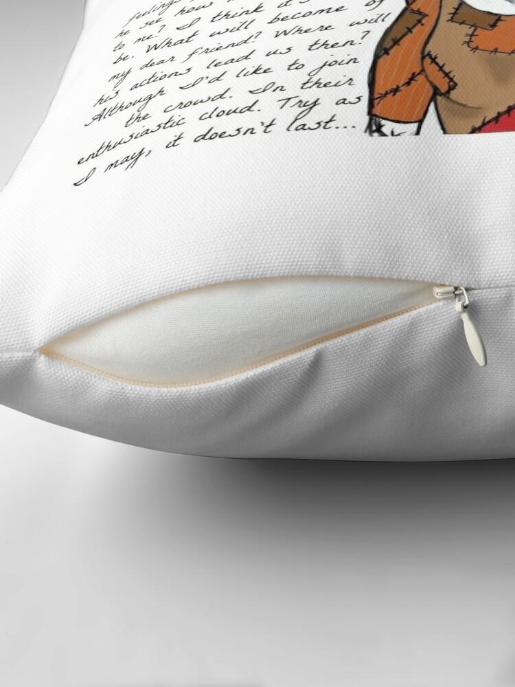 Alternate view of Nightmare Before Christmas Throw Pillow