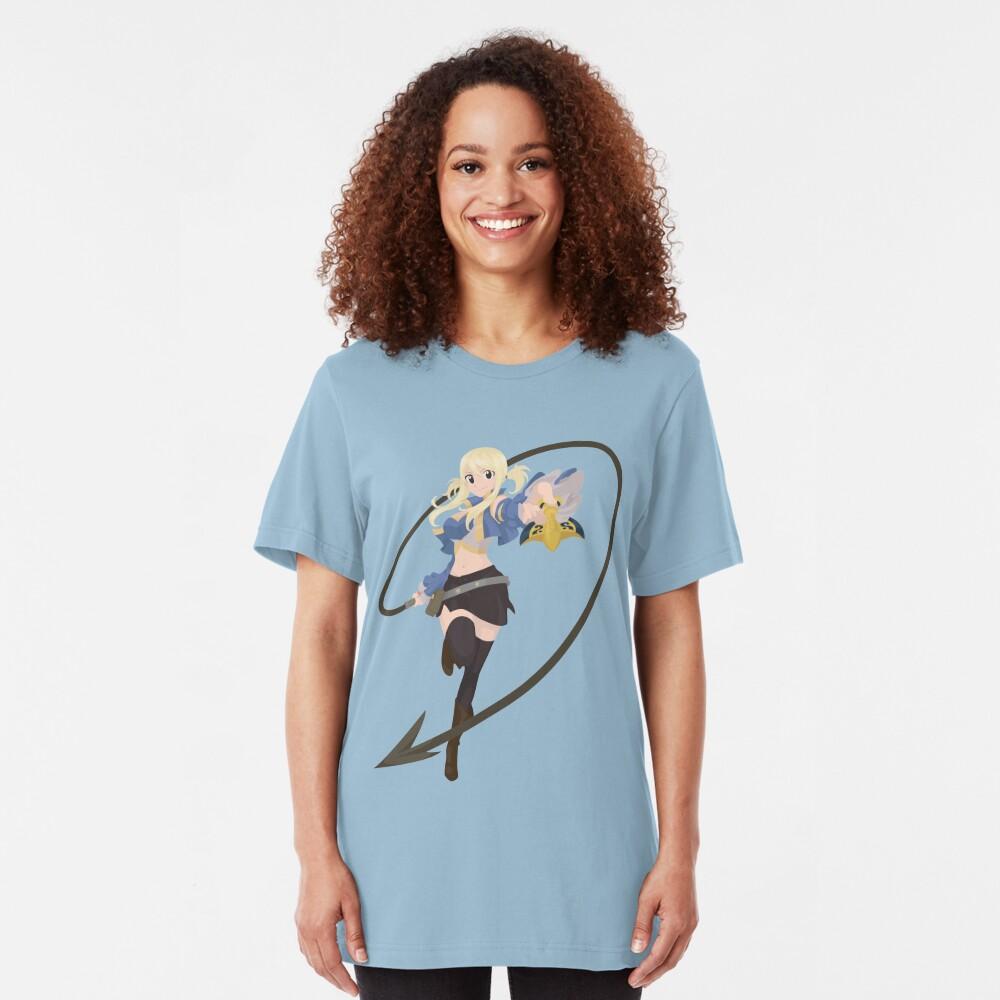 Lucy Heartfilia Slim Fit T-Shirt