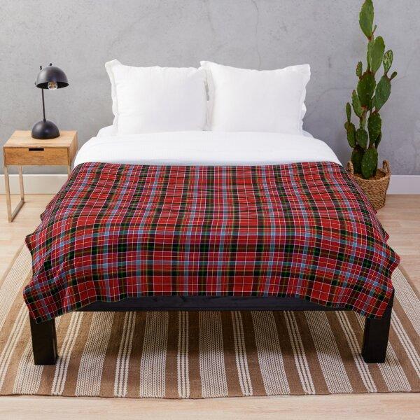 Aberdeen Scotland District Tartan Throw Blanket