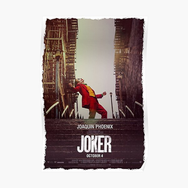 Joker movie poster Poster