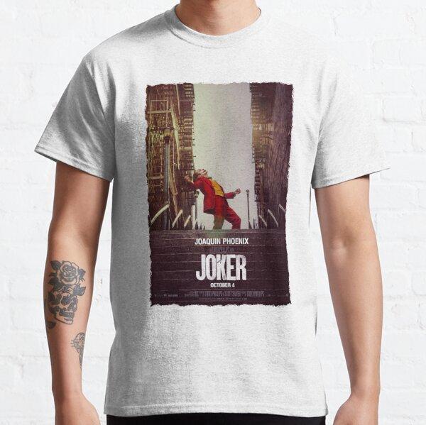 Joker movie poster Classic T-Shirt