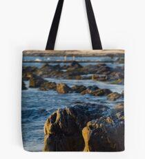 Rock and the Sea Tote Bag