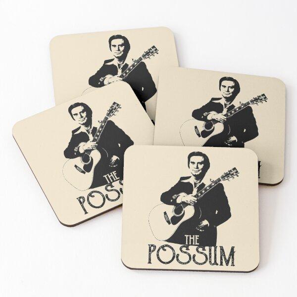 George Jones - The Possum Coasters (Set of 4)