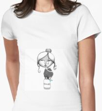 Text Me - Beatrice Ajayi Womens Fitted T-Shirt