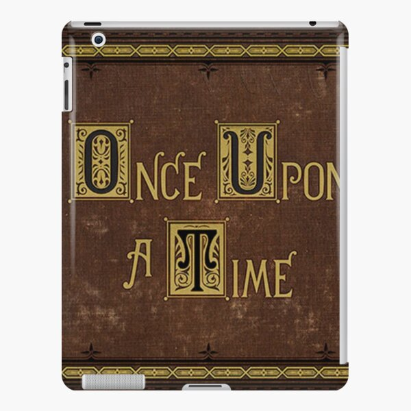 Once Upon A Time Book iPad Snap Case
