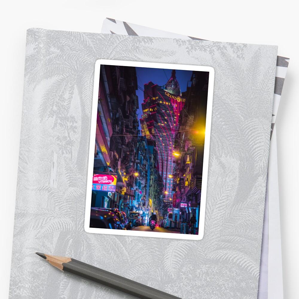 Macau - The Grand Lisboa Sticker