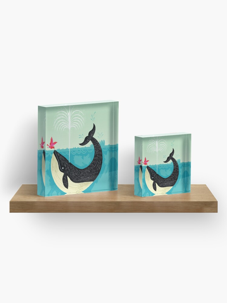 Alternate view of The Bird and The Whale Acrylic Block