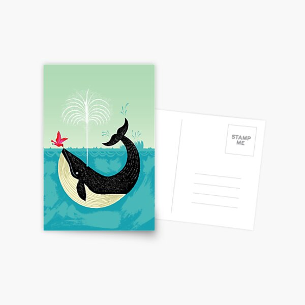The Bird and The Whale Postcard