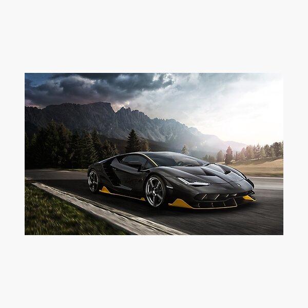 Lamborghini Centenario Photographic Print
