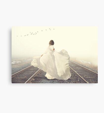 Dance To Your Destination.... Canvas Print