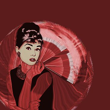Audrey Hepburn Mean Reds by nealcampbell