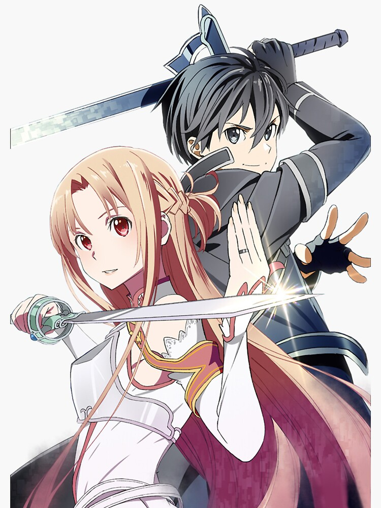 Sword Art Online - Asuna and Kirito by jessica0lavalle