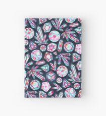 Kaleidoscope Crystals  Hardcover Journal