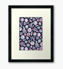Kaleidoscope Crystals  Framed Print