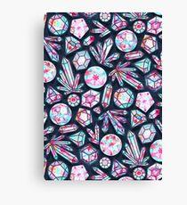 Kaleidoscope Crystals  Canvas Print
