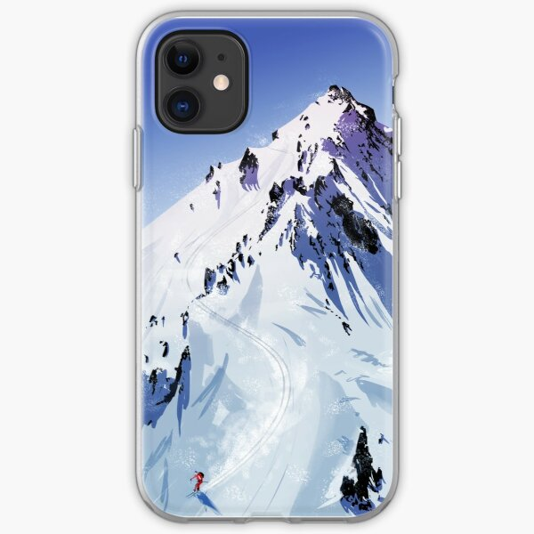 The descent  iPhone Soft Case